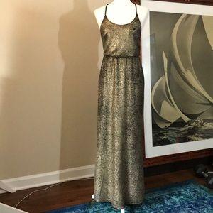 Dresses & Skirts - Gold and Black Prom / Maxi / Formal Dress Medium